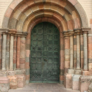 Denmark - The Ribe Cathedral gate