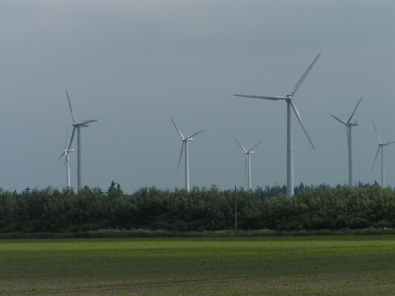 Windmills in Denmark 01
