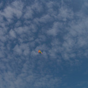 Denmark - Flying kite 01