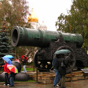 A cannon in Moscow