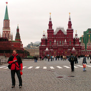 Brano at the Red Square, Moscow