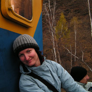 Local train around Baikal 10