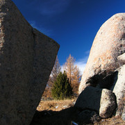 Mongolia - beautiful boulders in Tsetserleg NP 01