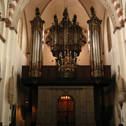 Denmark - inside a church in Ribe