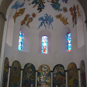 Denmark - paintings inside Ribe Cathedral