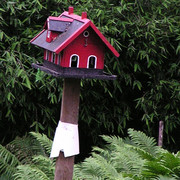 A Danish bird feeder