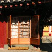 Korean old style door system