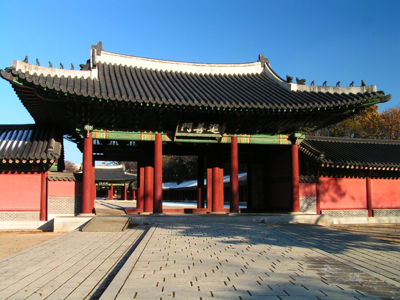 A Royal Palace in Seoul 01