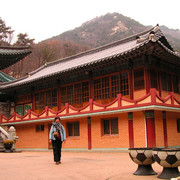 South Korea - a temple in Gyeryong San National Park