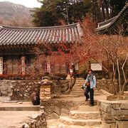 South Korea - a temple in Gyeryong-san mountain