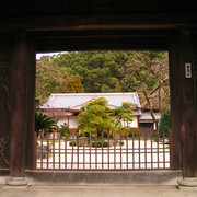 Japan - Fukuoka - a Shinto Shrine gate
