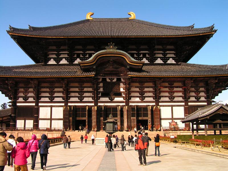 Japan - Todaiji Temple in Nara 03