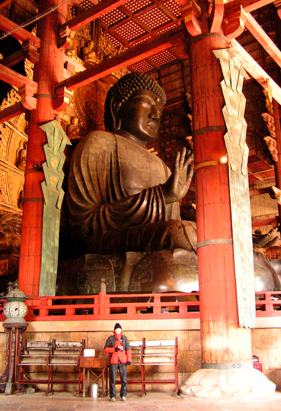 nara daibutsu how tall