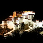 Potala Palace in Lhasa in Tibet