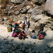 Nepal - local people - trek to Beni