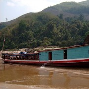 Laos - to Luang Prabang by boat01