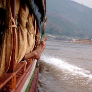 Laos - to Luang Prabang by boat 03