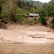 Laos - to Luang Prabang by boat 05