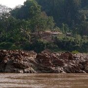 Laos - to Luang Prabang by boat 06
