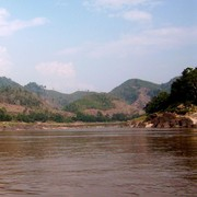 Laos - to Luang Prabang by boat - Mekong river