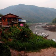 Laos - to Luang Prabang by boat 09