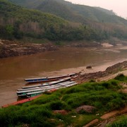 Laos - to Luang Prabang by boat 10