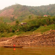 Laos - to Luang Prabang by boat 11