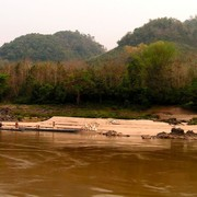 Laos - to Luang Prabang by boat 12