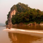 Laos - to Luang Prabang by boat 14