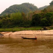 Laos - to Luang Prabang by boat 15