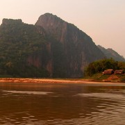 Laos - to Luang Prabang by boat 16