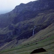 Iceland - First waterfall