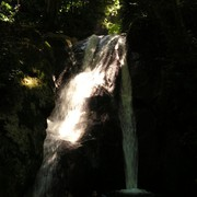 Malaysia - a waterfall in a jungle in Borneo