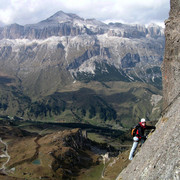 Italy trekking and climbing photos