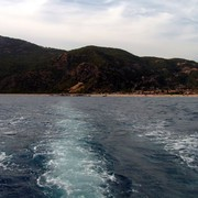 Turkey - by boat to Butterfly valley 03