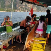 Turkey - by boat to Butterfly valley 05