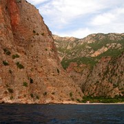 Turkey - by boat to Butterfly valley 08