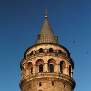 Turkey - Istanbul - a top of Galata tower