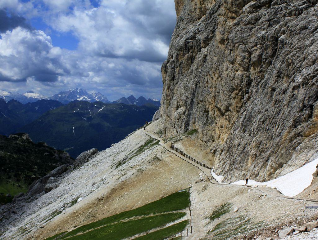 The Italian Dolomites - Via ferrata Tomaselli 05