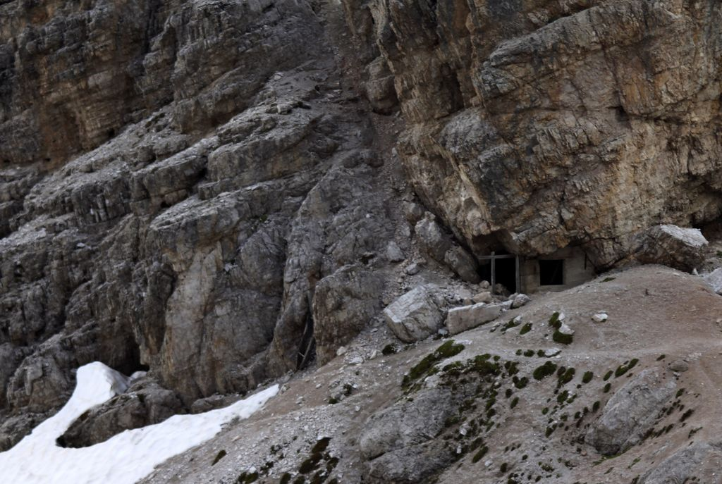 The Italian Dolomites - Via ferrata Tomaselli 14