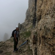 The Italian Dolomites - Via ferrata Renato de Pol 03