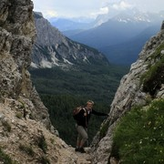 The Italian Dolomites - around Passo Tre Croci 14