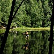 Czechia - Slackline festival - a waterline 01