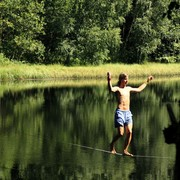 Czechia - Slackline festival - a waterline 02