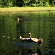 Czechia - Slackline festival - a waterline 05
