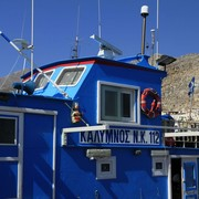 Greece - Kalymnos - the port in Pothia 01