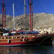 Greece - Kalymnos - the port in Pothia 02
