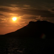 Greece - Telendos island at sunset