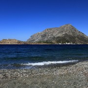 Greece - Kalymnos - Melitsahas beach and Telendos island