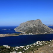 Greece - Telendos island and the Aegan Sea